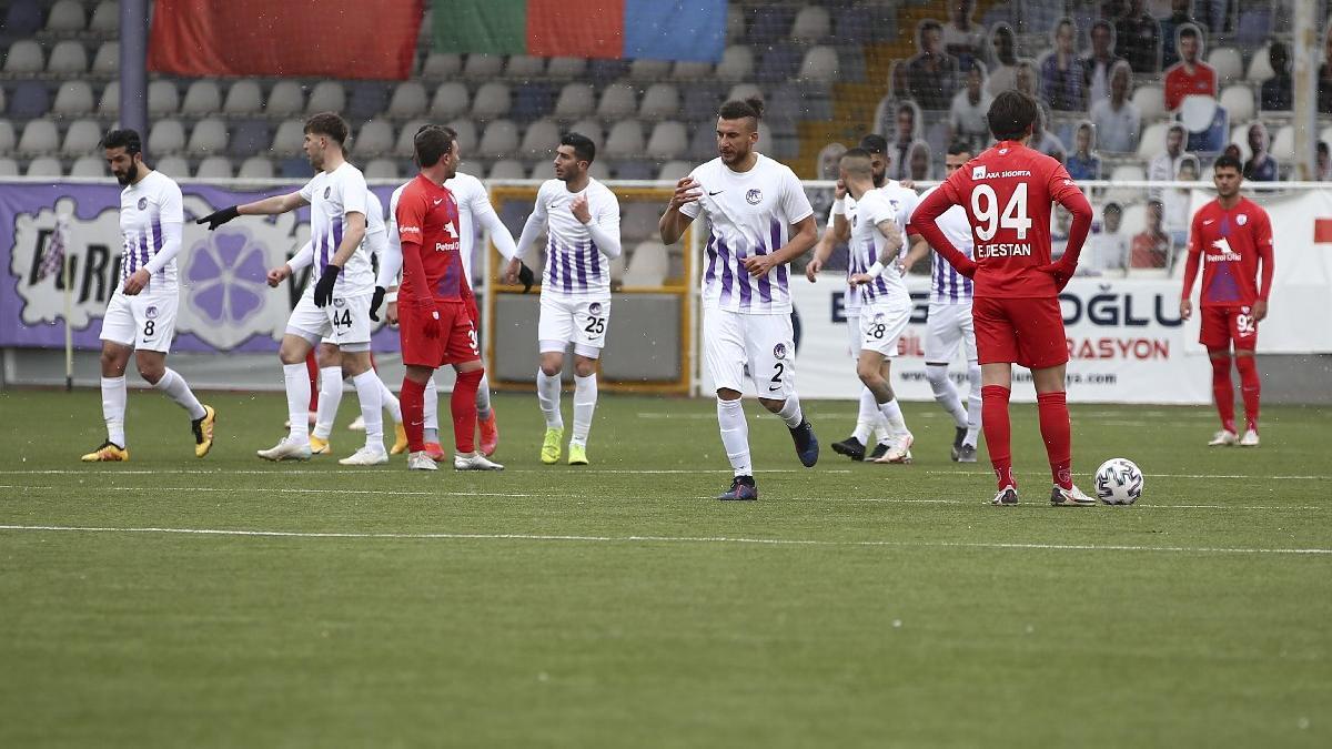 Müthiş seri sona erdi... Sekiz gollü maç | Keçiörengücü Altınordu