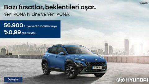 Hyundai - Kona Mobil Manşet Advertorial 11 Nisan'21