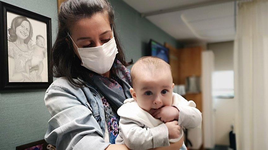 Coronalı annenin bebeği negatif doğdu