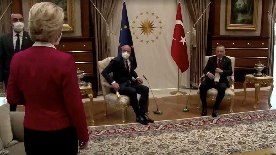 Der Spiegel'den koltuk krizi yorumu: Hata Erdoğan'da değil Michel'de