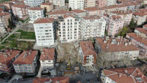 Ankara Çankaya'da 21 bina gece yarısı tahliye edildi