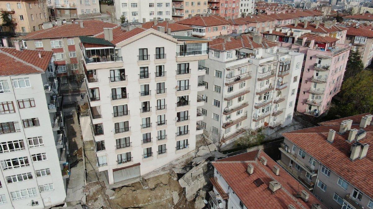 Ankara Çankaya'da 21 bina gece yarısı tahliye edildi - Son dakika haberleri