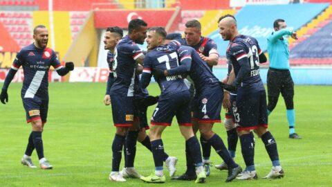 Antalyaspor, Kayserispor deplasmanında kazandı