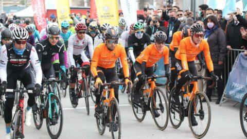 Cumhurbaşkanlığı Bisiklet Turu Konya'da start aldı