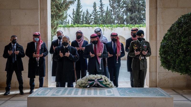 Ürdün'de kritik kare: Kral ile veliaht prens ilk kez aynı karede