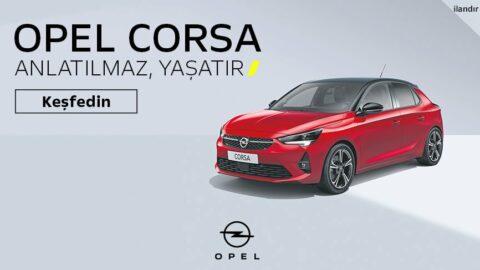 Opel Corsa şimdi 12 Ay %0,99 Faizle