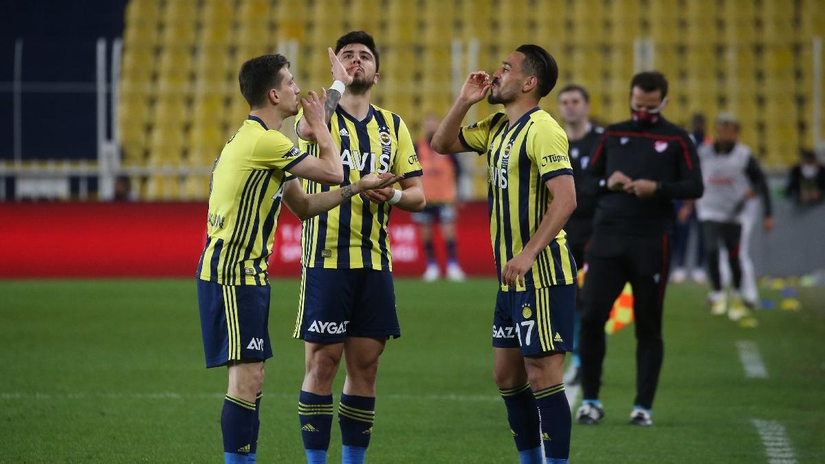 Fenerbahçe, Gaziantep FK'yı 3 golle yendi