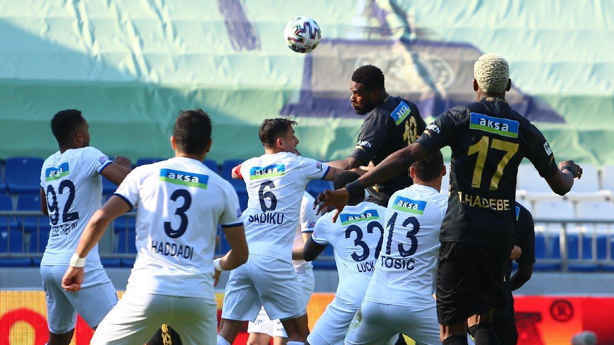 Kasımpaşa ile Yeni Malatyaspor yenişemedi