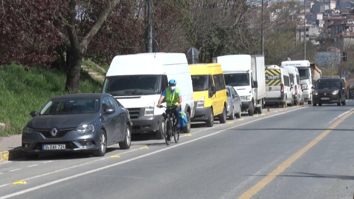 'Bisiklet yolunu işgal edenleri 155'e şikayet edin'