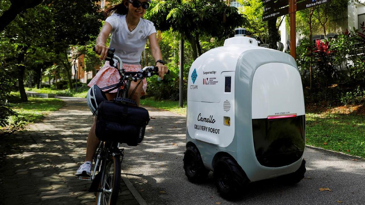Eve teslimatta robotların dönemi başlıyor