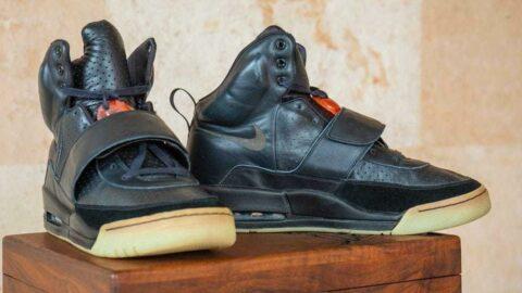 Kanye West'in tasarladığı Yeezy ayakkabılar 1 milyon dolara satışa sunuldu