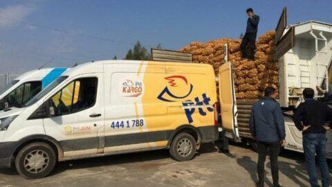 'PTT çalışanlarına patates-soğan zulmü'