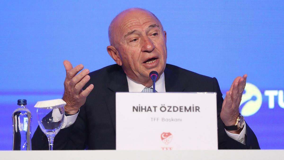 TFF Başkanı Nihat Özdemir'den olay açıklama: 'Beşiktaş'ı engellemek için...'