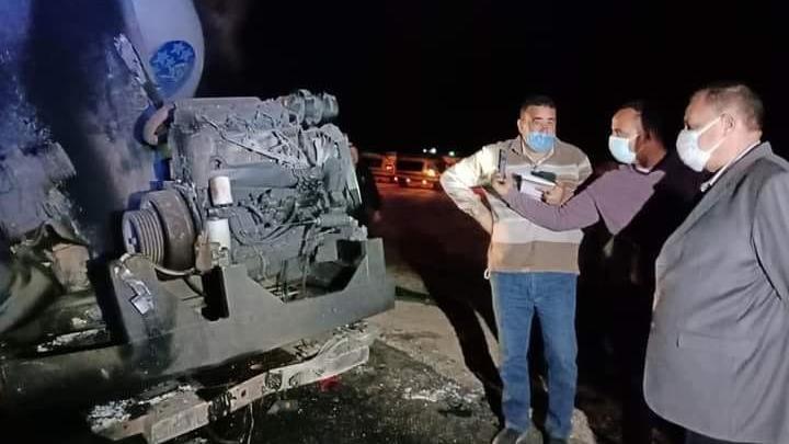 Mısır'da yolcu otobüsü devrildi: Onlarca ölü ve yaralı var