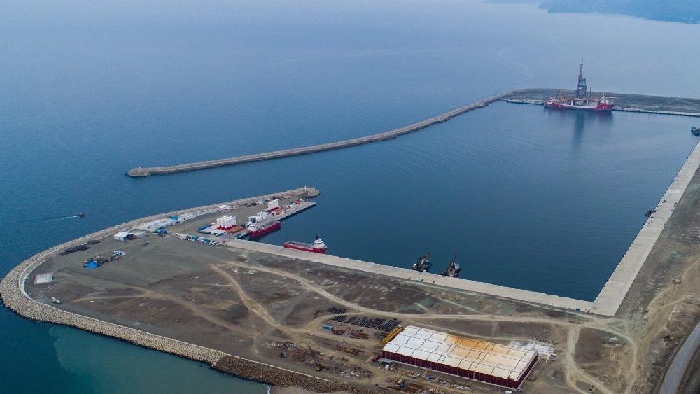 537 milyon liraya başlayan Filyos Limanı 2.2 milyar liraya bitiyor