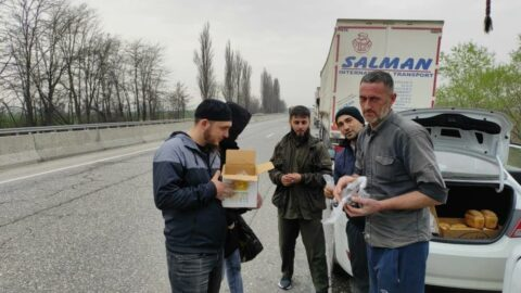 Türk TIR şoförleri 1 aydır Rusya-Gürcistan sınırında mahsur