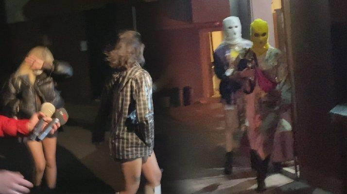 'Kar maskeli' corona partisi! Aralarında fenomenler de var