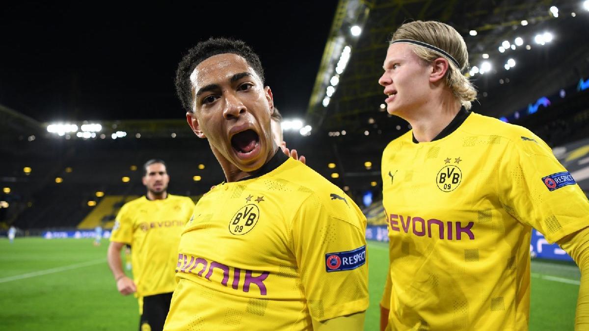 Borussia Dortmund'un 17 yaşındaki yıldızı Jude Bellignham tarihe geçti