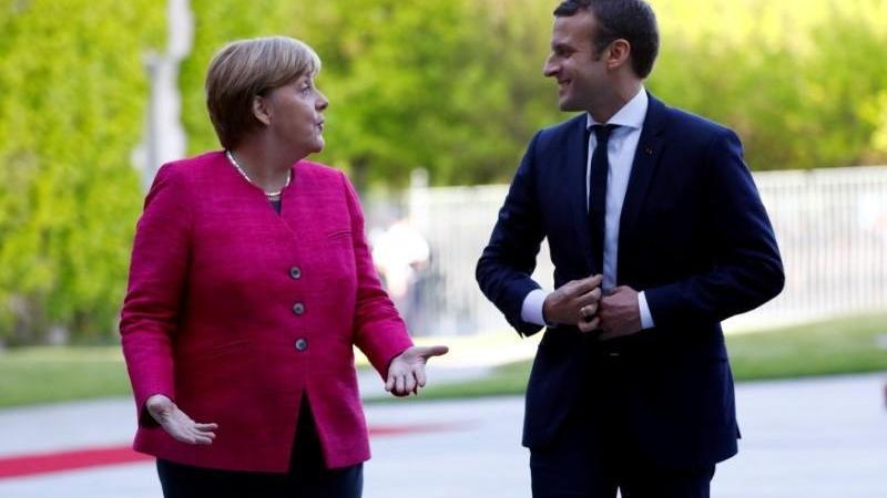 Macron, Merkel ve Zelenskiy Rusya'yı görüşecek