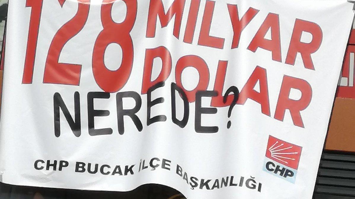 '128 milyar dolar nerede?' afişinin cezası 13 bin TL
