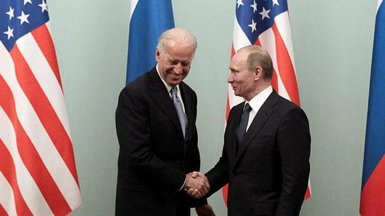 Biden'dan büyük gaf! 'Putin'in ismini yanlış söyledi
