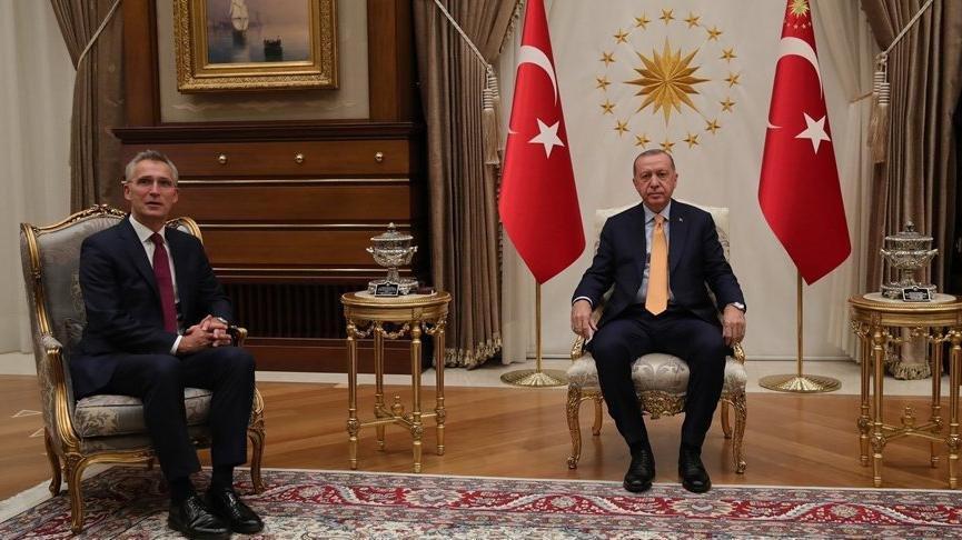 Erdoğan, NATO Genel Sekreteri Stoltenberg ile görüştü