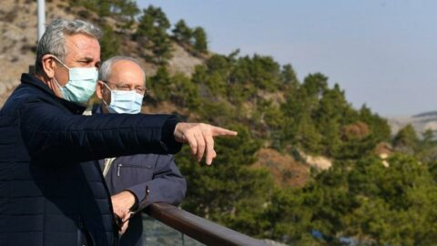 Mansur Yavaş'tan Kemal Kılıçdaroğlu'na ziyaret
