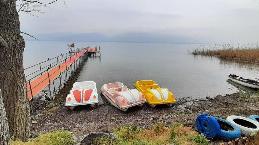 Sapanca Gölü'nde su seviyesi yükseliyor