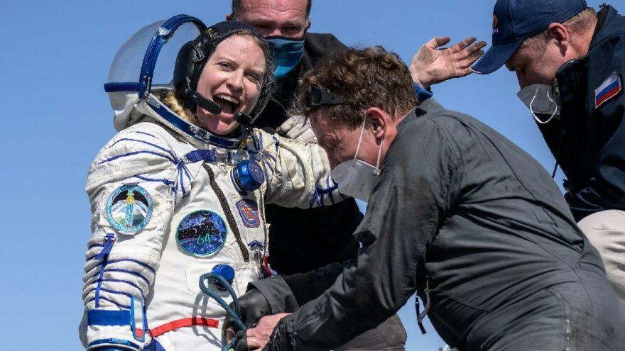 Van Gölü fotoğrafını çeken astronot dünyaya döndü