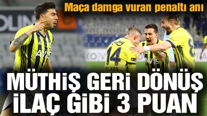 Fenerbahçe Başakşehir'de müthiş bir galibiyet aldı! 3 puanı Harun kurtardı…