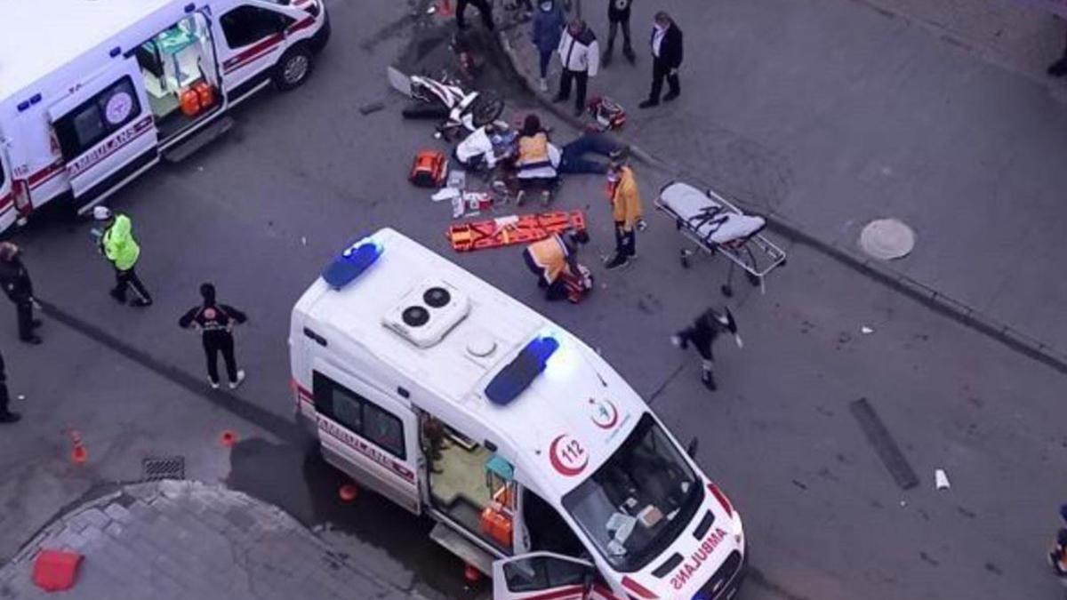 Ambulans bu kez can aldı