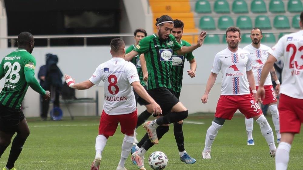 Akhisarspor'un ligde kalma umutları azaldı
