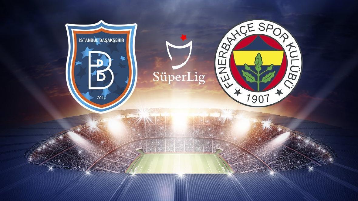 CANLI   Medipol Başakşehir Fenerbahçe maçı canlı yayın (ilk yarı oynanıyor)