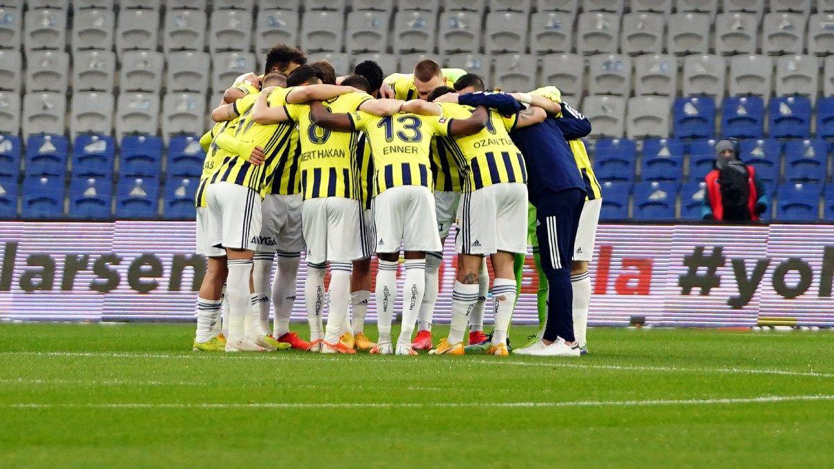 Fenerbahçe'nin saha içi istatistikleri yükselişte