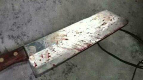 Satırlı şişli kavgada ağır yaralandı