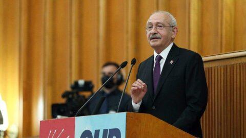 Kılıçdaroğlu: 128 milyar doları örtmek için emekli amirallere kelepçe taktılar