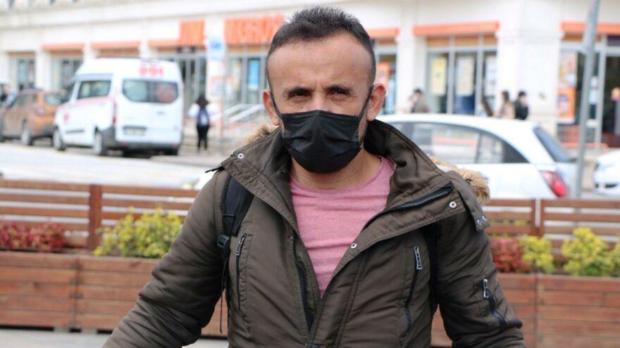 Nikah sonrası kaçan eşine ödediği nafakayıprotesto içinİstanbul'a yürüyor