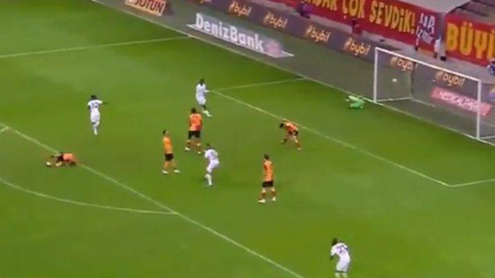 Galatasaray Trabzonspor maçına damga vuran Edgar Le golü