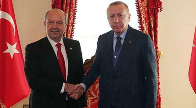 Ο Ερσίν Τατάρ θα συναντηθεί με τον Ερντογάν πριν από τη συνάντηση των 5 + Ηνωμένων Εθνών