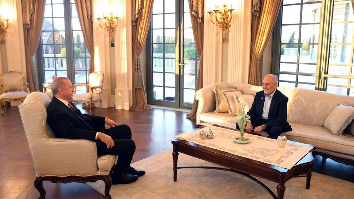 Erdoğan, Saadet Partili Asiltürk ile iftar yaptı
