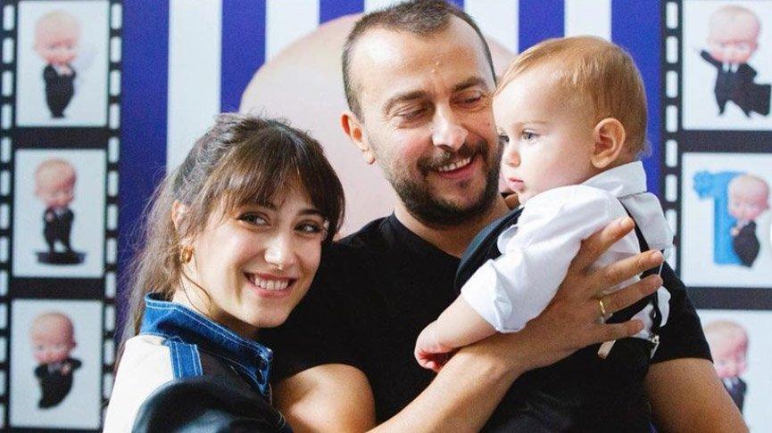 Hazal Kaya'dan eşi Ali Atay'a romantik kutlama
