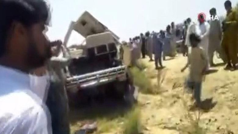 Pakistan'da katliam gibi kaza