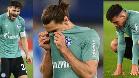 Küme düşen Schalke 04'e yumurtalı tepki