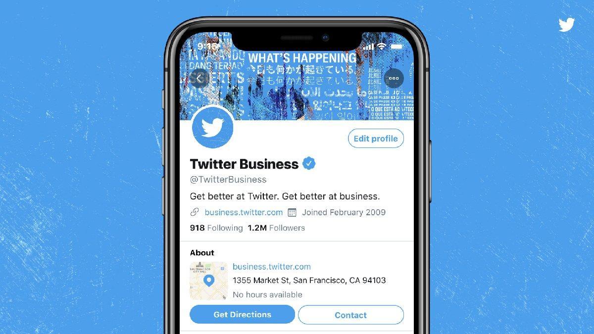 Twitter, işletmeler için yeni tasarımını test ediyor