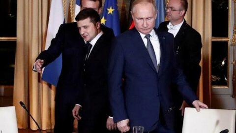 Vladimir Putin'den Ukrayna Devlet Başkanı Zelenskiy'e davet