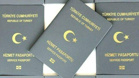 Başarılı olduğumuz için gri pasaportla ödüllendirdiler