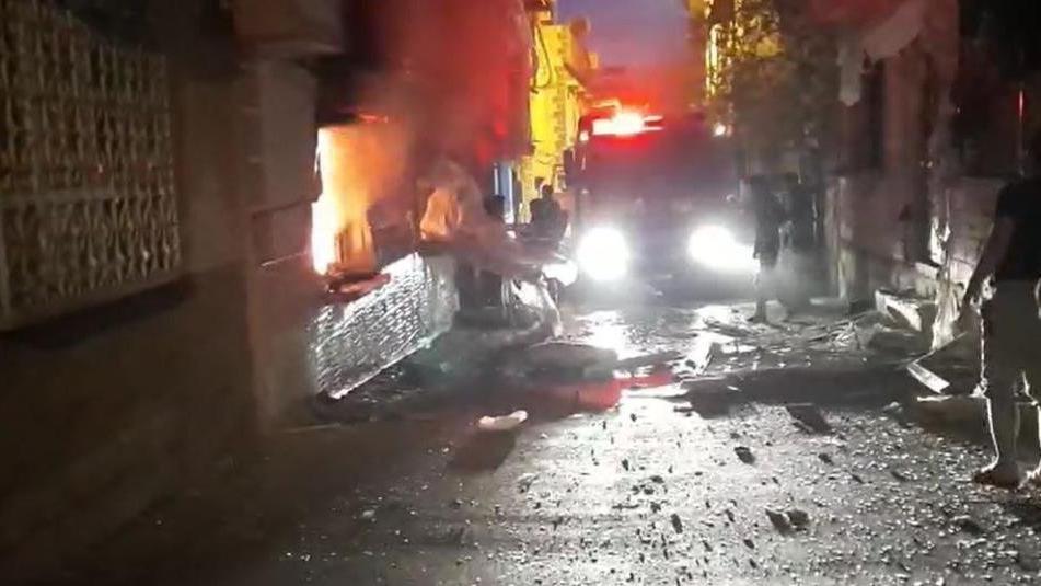Gaziantep'te doğalgaz bomba gibi patladı