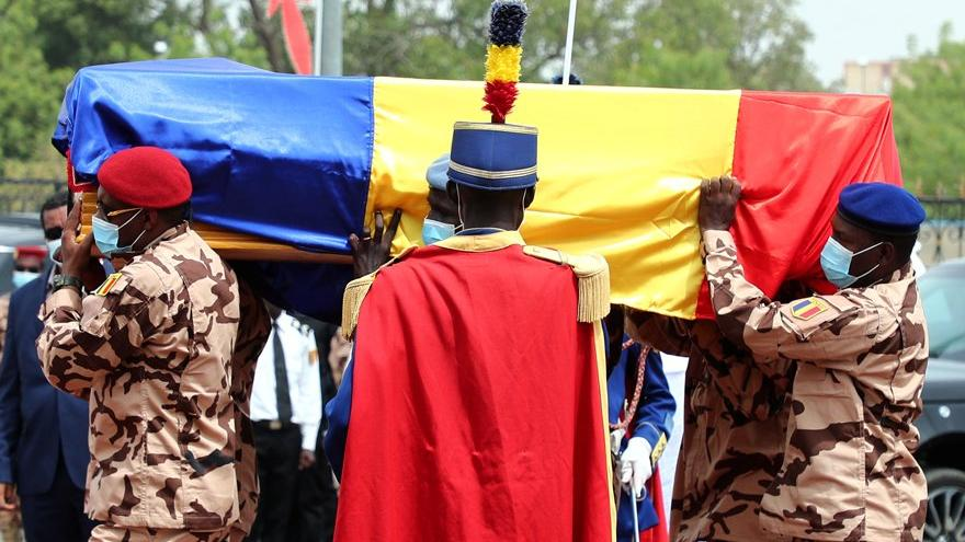 Öldürülen Çad Cumhurbaşkanı'nın cenaze töreni gerçekleşti: Fransa'dan destek