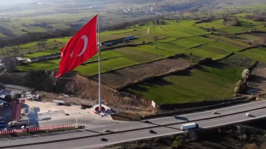 Cumhurbaşkanı Erdoğan 'en büyük bayrak' dedi ama Samsun'da daha büyüğü var