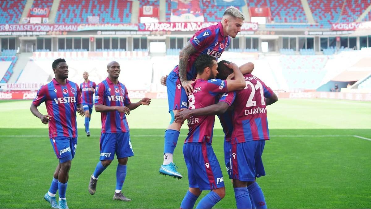 Trabzonspor Karagümrük'ü Djaniny ile yıktı, 5 maç sonra kazandı: 2-0